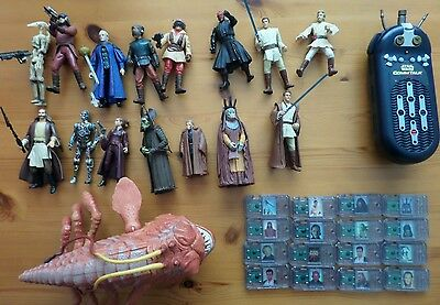 Star Wars job lot figures accessories and Opee Sea Killer
