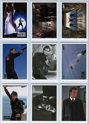 2016 James Bond Archives Spectre - The Living Daylights GOLD Set (61 cards) /125