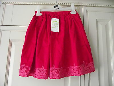 Vertbaudet Beautiful Red skirt- 126 cm For Ages 8 - Brand New Tags