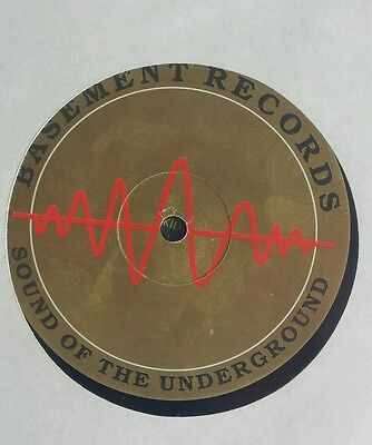 """@ruff With The Smooth Basement Records Rare Jungle Intelligence 12""""@"""