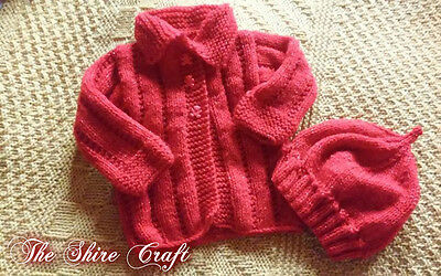 Baby Christmas Knitted Set