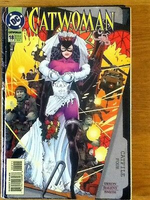 Catwoman issue 18 (VF) from February 1995 - postage discounts apply