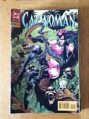 Catwoman issue 19 (VF) from March 1995 - postage discounts apply