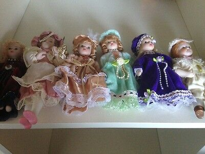 Collectable antique dolls(6) (reduced)