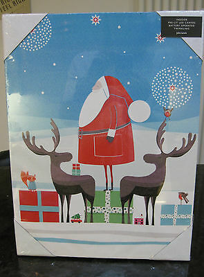 Christmas decoration LED picture from John Lewis BNIB