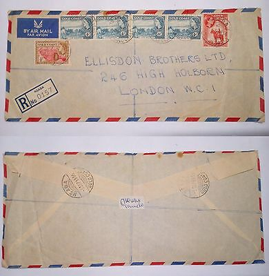 Tanzania 1983 Stamps & Cover To London