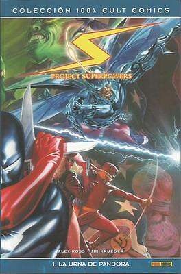 Lote 2 Tomos PROJECT SUPERPOWERS Panini Comics