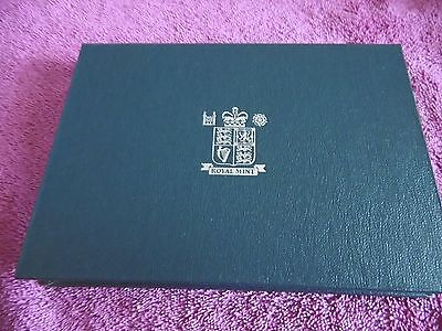 1992 UK proof coin collection with COA and outer box