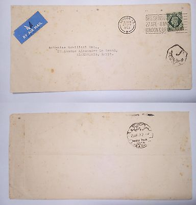 South Africa Durban 5.10.82 Stamped Cover Air Mail To California U.s.a.