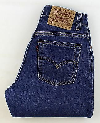 Levis 550 High Waisted Vintage Relaxed Tapered  Jeans High Waisted W27 L30 21616