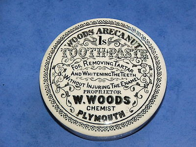 Fancy Woods Plymouth Toothpaste Pot Lid