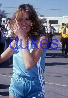 the DUKES OF HAZZARD #804,CATHERINE BACH,candid photo
