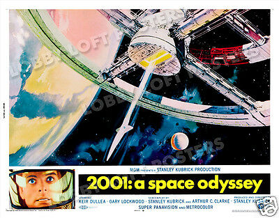 2001: A Space Odyssey Lobby Card Poster Hs 1968