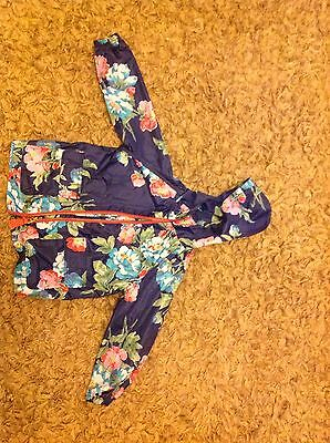 Joules Anorak Jacket Pack A Mac Age 3 Girl Exc Con