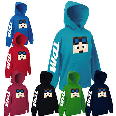 Dan TDM Hoodie Fun Cool Cart DanTDM Adventures Gamers Gift Hoody Top Present.