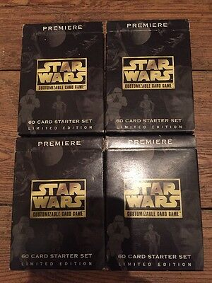 218 Star Wars CCG Cards (Decipher Games) Including 8 Rares