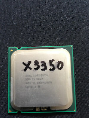 INTEL CONFIDENTIAL XEON X3350 775 2.66Ghz quadcore
