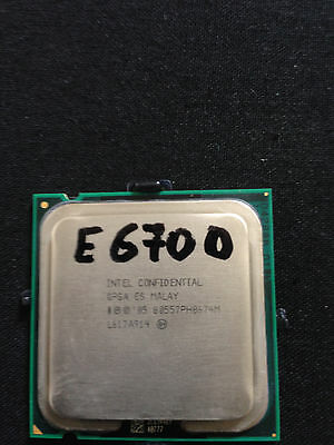 INTEL CONFIDENTIAL CORE DUO E6700 775 2.66Ghz