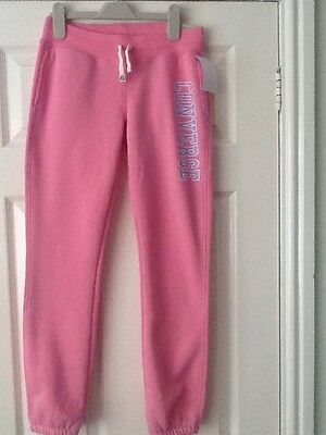 pink converse slim fit jogging pants age 10-12 years BNWT