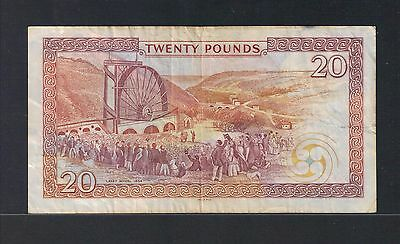 Isle of Man 20 pounds listed at face value Wheel on back V/Fine H567322