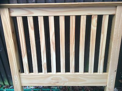 Single Solid Wood Bed