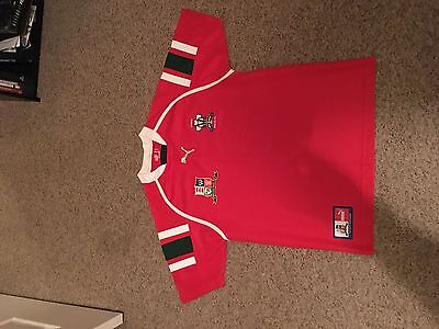 Rare Wales Rugby League Shirt