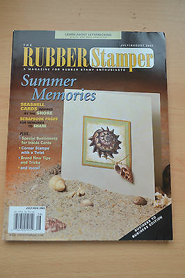 Rubber Stamper Magazine American, July/august 2002