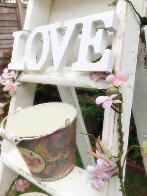 Love Wooden Letters - Wedding Shabby Chic - White