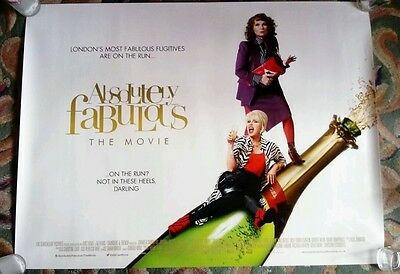 Absolutely Fabulous Quad 40 X 30 Cinema Poster