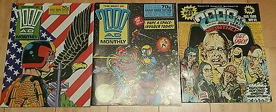 2000AD Comics Monthly Progs Various