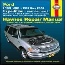 Haynes LINCOLN NAVIGATOR FORD PICK-UP F150 F250 F 150 250 Owners Manual Handbook