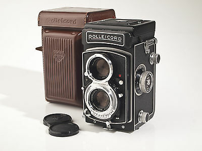 Rollei Rolleicord Vb - Type 1 - Xenar 3.5 / 75mm - fully working - exc++