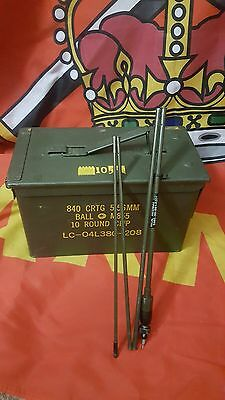 British Army Issue Clansman 1.2 Metre Mk 6 Whip Antenna For PRC-350/351/352