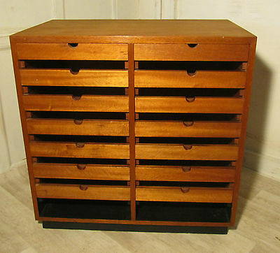Art Deco Shop Counter Haberdashers Drawers