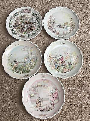 Royal Doulton Wind In The Willows Collector Plates