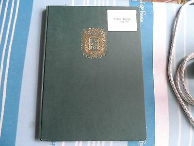 liberia/liban stamps and A4 stock book