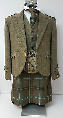 "36"" Henderson Ancient 8 Yard wool kilt made in Scotland was £299 now £199"