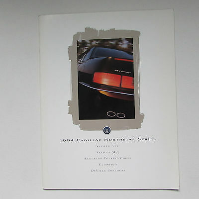 Cadillac 1994 Northstar Series Large Format Brochure