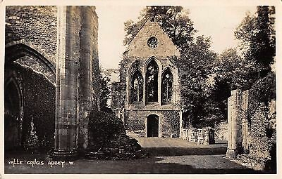 Postcard Valle Crucis Abbey .W.  real photo rppc