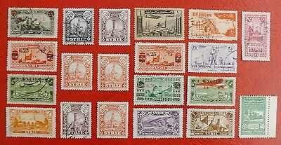Early Mixture of MM & used stamps