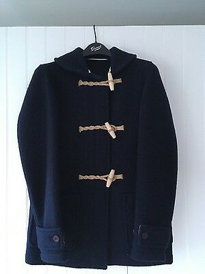 YMC x GLOVERALL NAVY DUFFEL JACKET/COAT new with tags