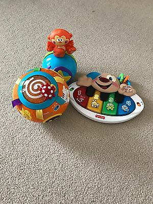 bulk 6-12M toys fisher price and vtech