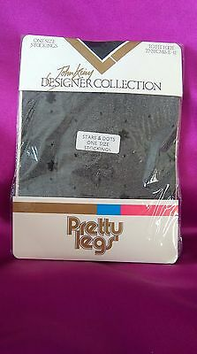 Vintage Sheer Lace Garter Stay Up Thigh High Hold-ups Stockings Pantyhose 6