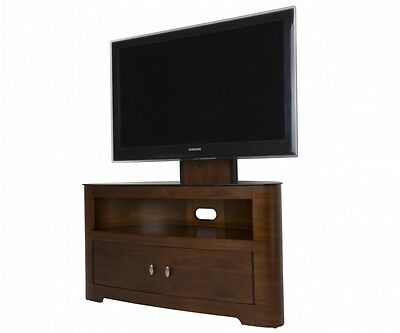 AVF Blenheim Walnut FSL1000BLEW 3 IN 1 Stand & Mount fits TVs up to 55""