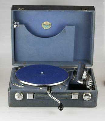 Antique Soviet Russian Gramophone by Molotovsky Gramophone factory circa 1940