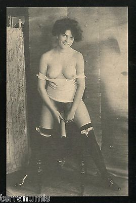 x638 Risque Erotic nude naked women 1920's Photo postcard