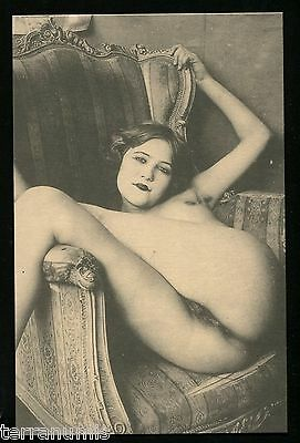 x616 Risque Erotic nude naked women 1920's Photo postcard