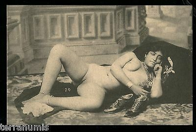 x615 Risque Erotic nude naked women 1920's Photo postcard
