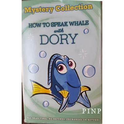 2016 HOW to SPEAK WHALE with DORY MYSTERY COLLECTION DISNEY 2 PIN SET BOX 115345
