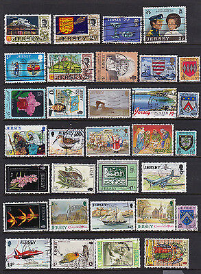 Jersey - 55 Different Stamps